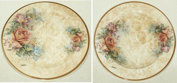 """Набор тарелок: суповая (23,5 см.)+ обеденная (25 см.) """"Элианто"""""""