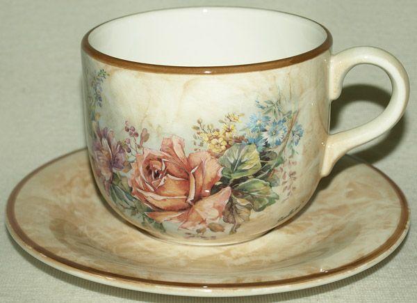"""Чашка 0.5 л. с блюдцем """"Элианто"""""""