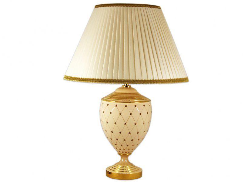 """Настольная лампа h 63см  """"Murano Cream Gold"""""""