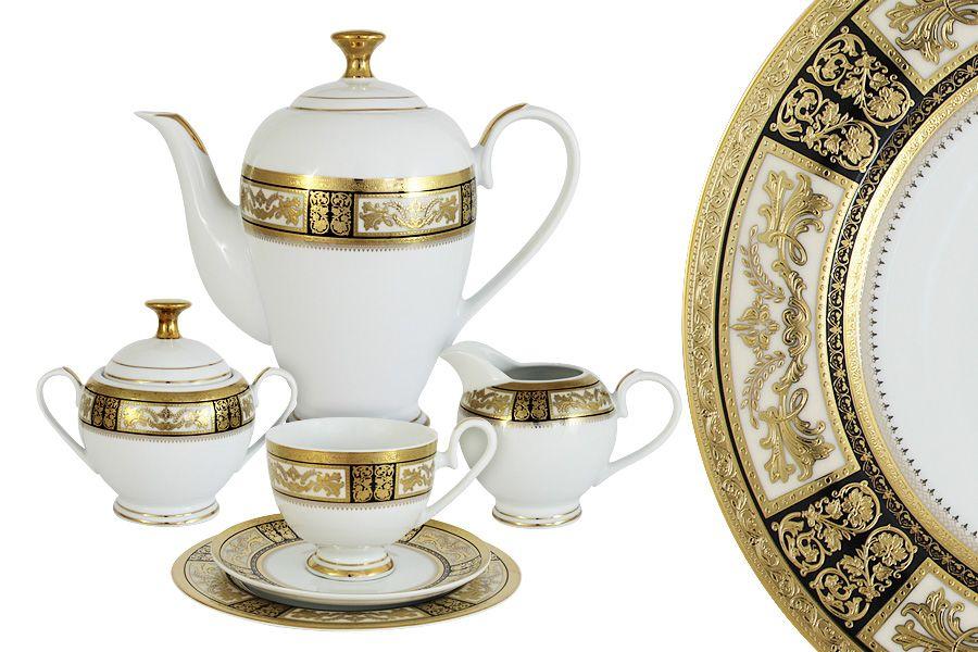 """Чайный сервиз на 6 персон """"Елизавета"""", 23 пр."""