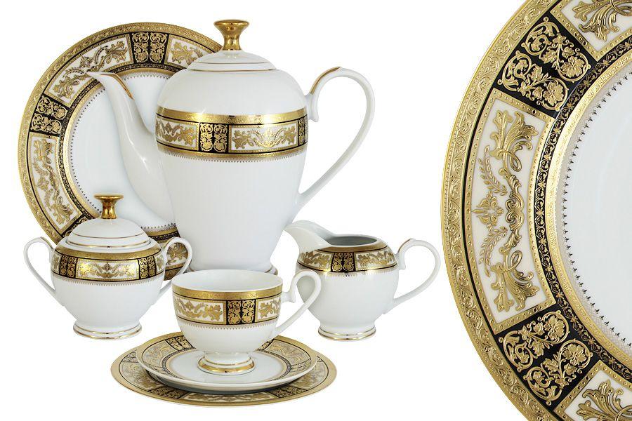 """Чайный сервиз на 12 персон """"Елизавета"""", 42 пр."""