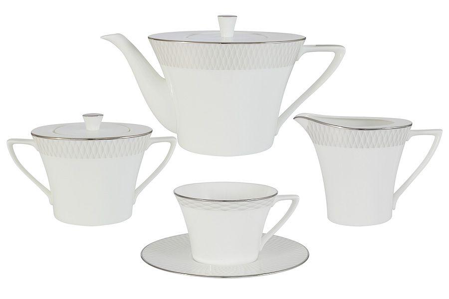 """Чайный сервиз """"Бриз"""", 17 пр., 0.24 л"""