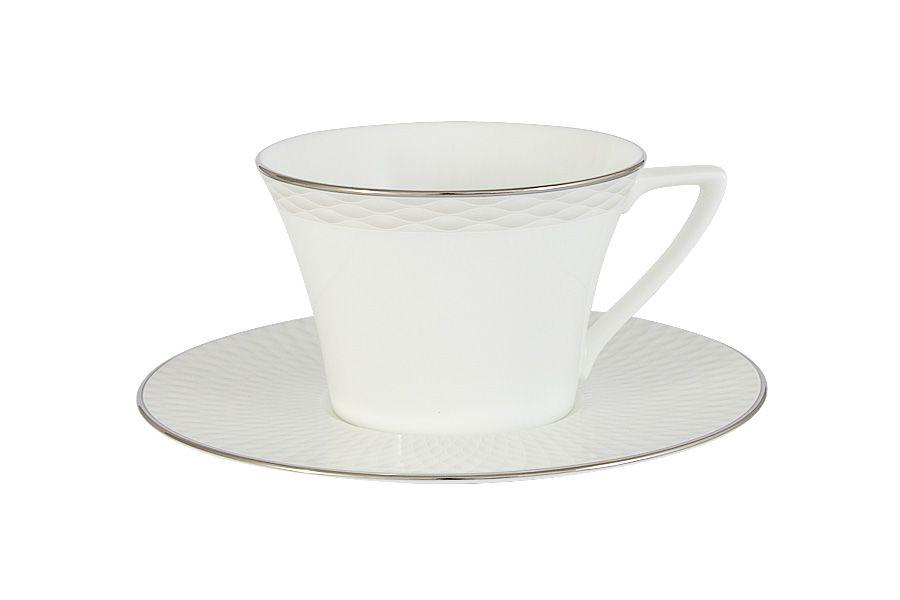 """Чашка с блюдцем """"Бриз"""", 0.24 л."""
