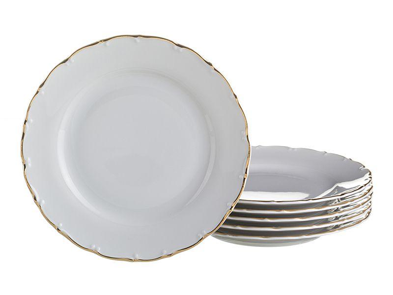 """Набор тарелок """"Офелия 662"""", 25 см, 6 шт."""