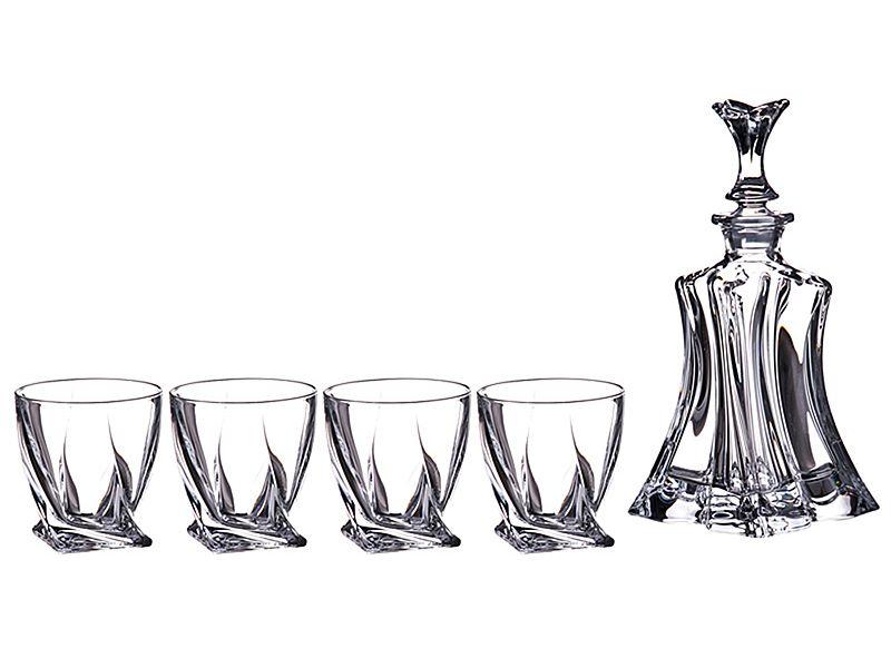 "Набор для виски ""Флорал"" 700/340 мл, h=27/9 см, 5 пр."