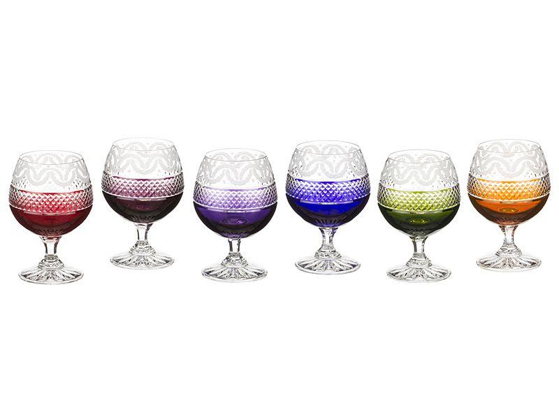 Набор бокалов для коньяка 250 мл, 6 шт.