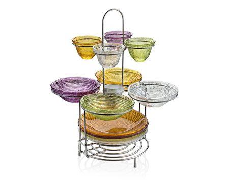 """Набор """"Multicolor"""" из 4 блюд 9 см, 4 салатников 16 см, 4 тарелки"""